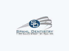 Adult patient before functional orthodontics treatment at Spahl Dentistry in St. Paul, MN